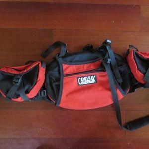 Camelbak Bandido red waistpack, nwot